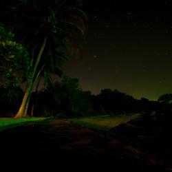 Noční obloha skoro jak z Pláže