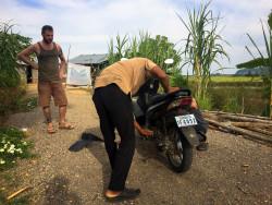 Chcípnutá motorka